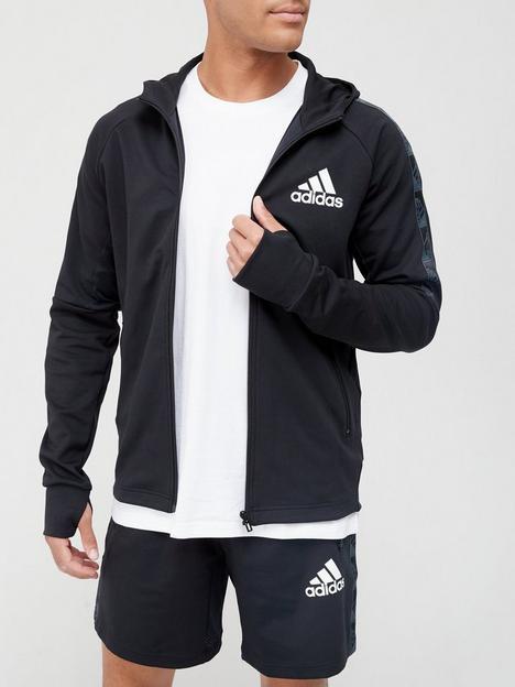 adidas-tape-detail-zip-hoodie-blackwhite