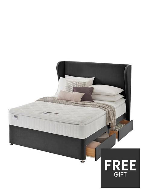 silentnight-shea-velvet-1000-pillowtop-superking-2-drw-divan-with-headboard
