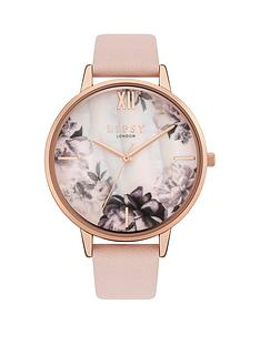 lipsy-lipsy-floral-dial-gold-tone-bezel-nude-strap-watch