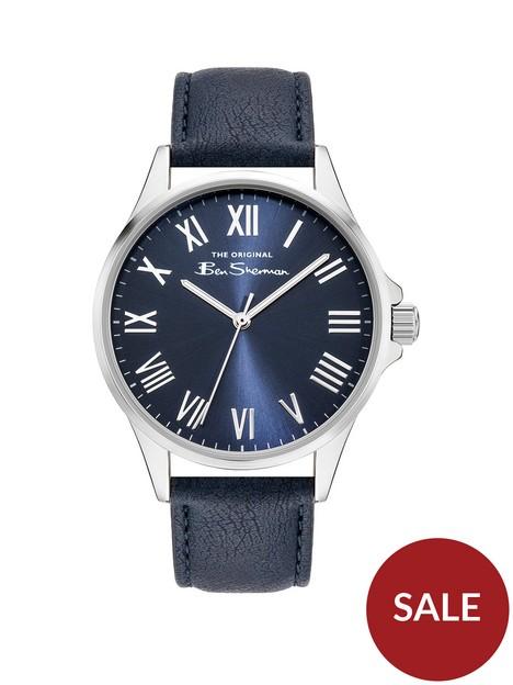 ben-sherman-blue-dial-blue-strap-watch