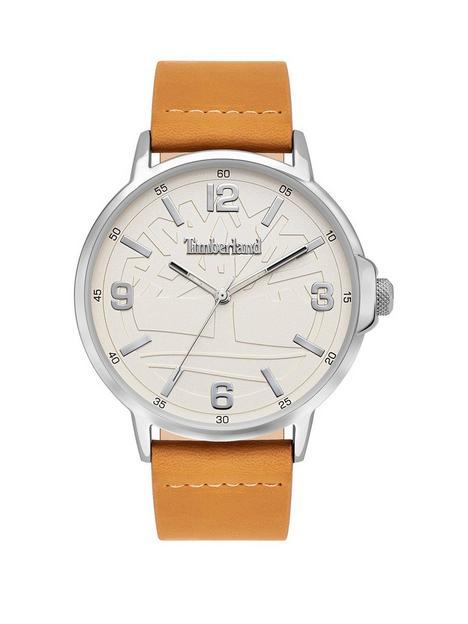 timberland-white-dial-tan-strap-watch