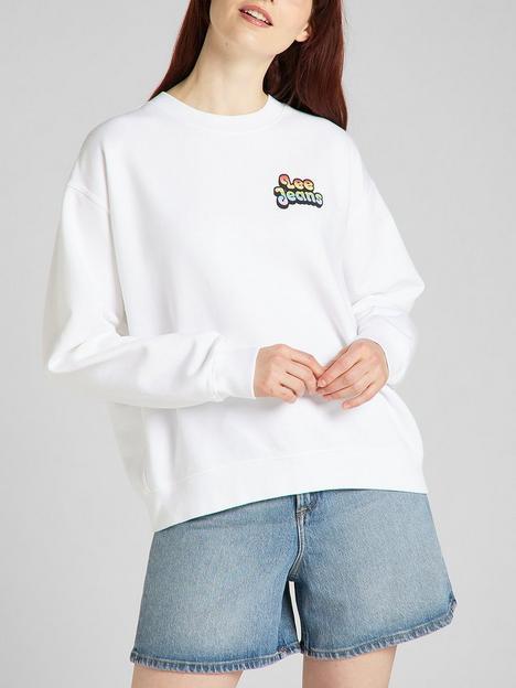 lee-pride-bubble-logo-back-sweat-white