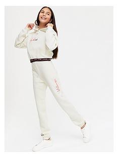 new-look-girls-la-waistband-cuffed-jogger-white