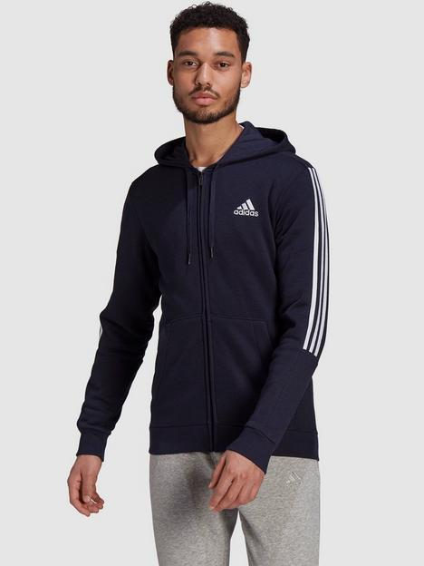 adidas-plus-size-cut-3-stripe-zip-hoodie-navywhite