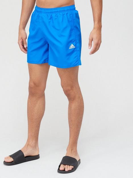 adidas-solid-swim-shorts-blue