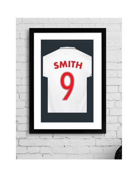 personalised-england-football-shirt-print