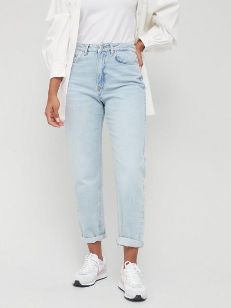 v-by-very-mom-high-waist-jean-lightnbspwash