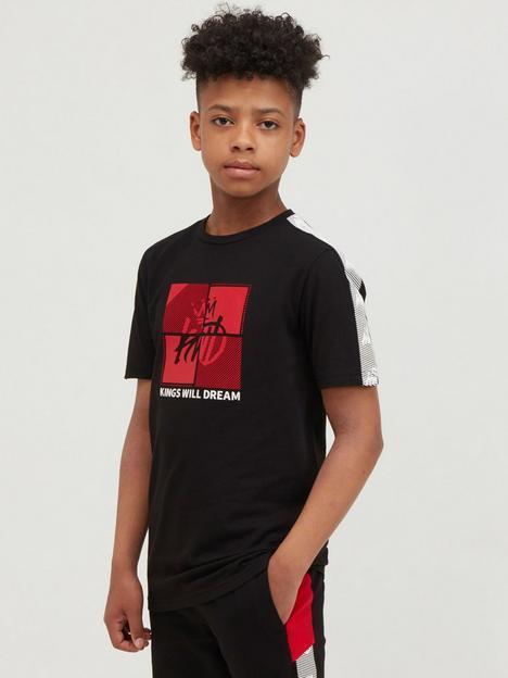 kings-will-dream-junior-fourside-t-shirt-black