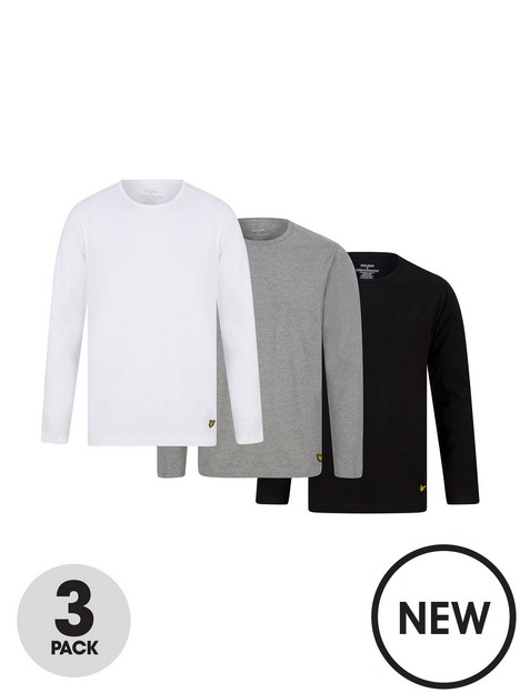 lyle-scott-lyle-scott-todd-3-pack-long-sleeve-t-shirt