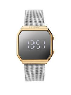 sekonda-sekonda-silver-and-gold-detail-digital-dial-stainless-steel-mesh-strap-watch