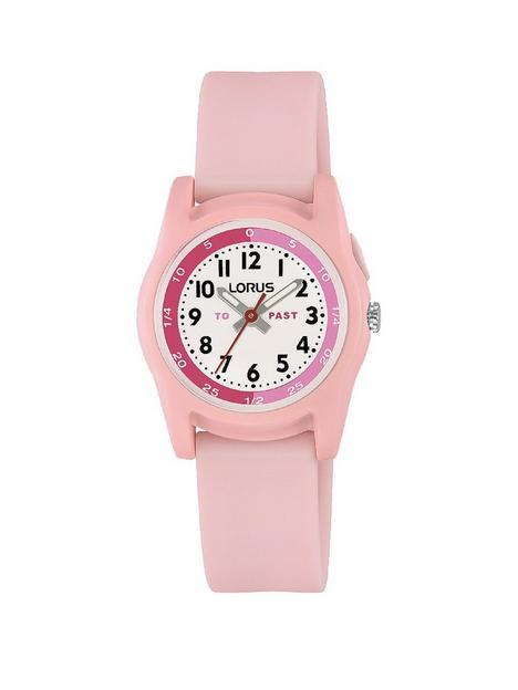 lorus-pink-strap-watch