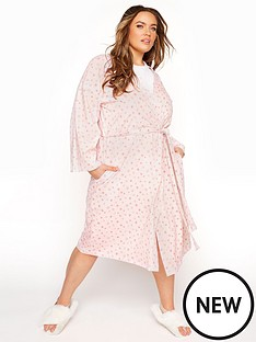 yours-cotton-jersey-sketch-heart-robe