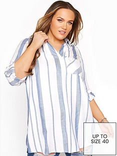 yours-yours-overhead-stripe-shirt-blue