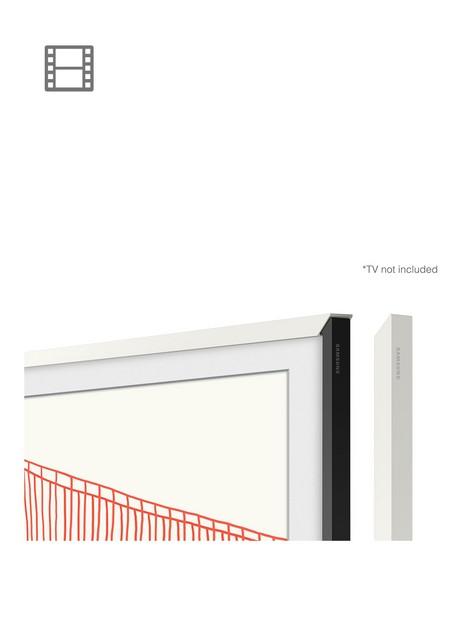 samsung-customisable-bezel-for-the-frame-tv-2021-43-modern-bezel-in-white