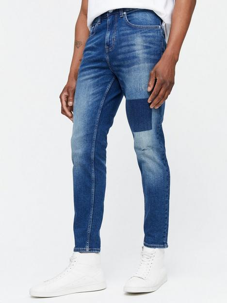 new-look-tapered-shadow-patch-jean