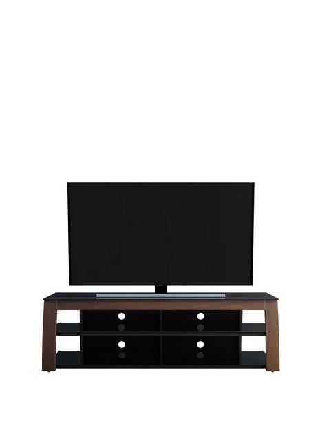 avf-kivu-1800-tv-stand-in-walnutnbsp--fits-up-to-90-inch