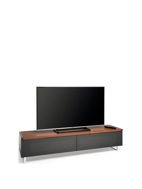 avf-panorama-160-tv-stand-walnutblack-fits-up-to-80-inch-tv
