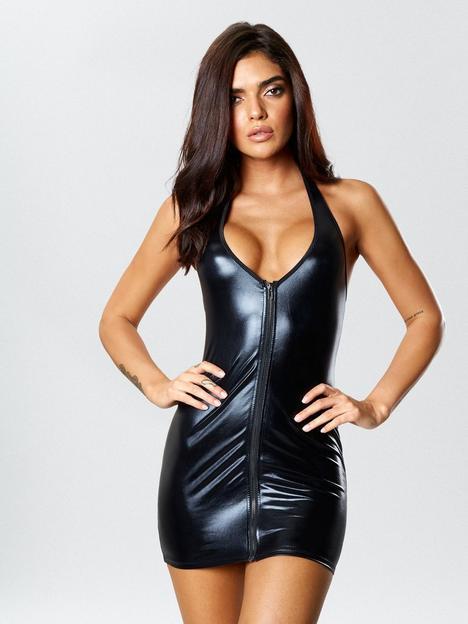 ann-summers-samra-boxed-covered-dress-black