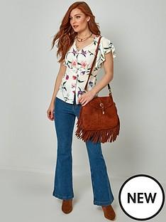 joe-browns-joe-browns-cap-sleeve-printed-blouse--white