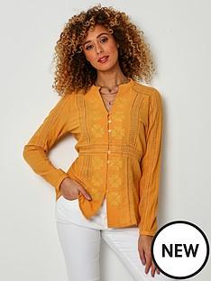 joe-browns-joe-browns-mellow-blouse--yellow