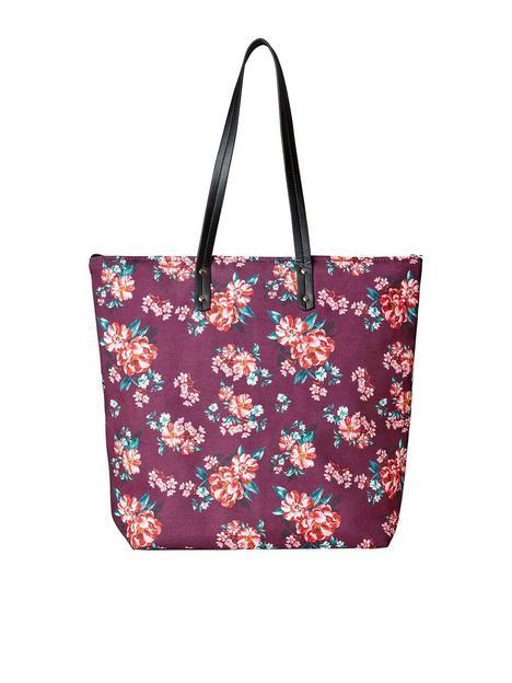 joe-browns-joe-browns-floral-summer-beach-bag--plum-multi