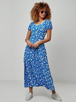 joe-browns-retro-maxi-dress-blue