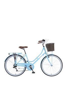 viking-viking-belgravia-ladies-traditional-26-inch-wheel-6-speed-bike-18-inch-blue