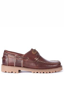 barbour-stern-leather-boat-shoes