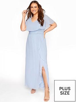 yours-yoursnbspblue-angel-sleeveless-maxi-dress