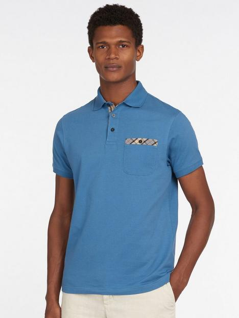 barbour-hirst-tartan-pocket-polo-shirt