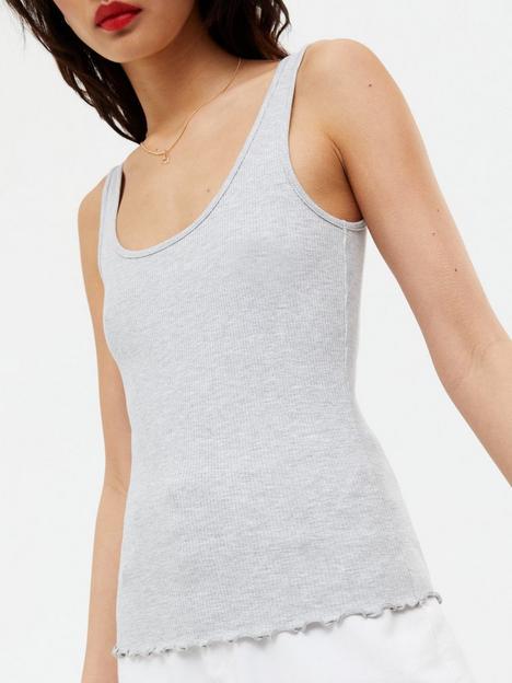new-look-3-pack-frill-hem-vest-black-white-grey