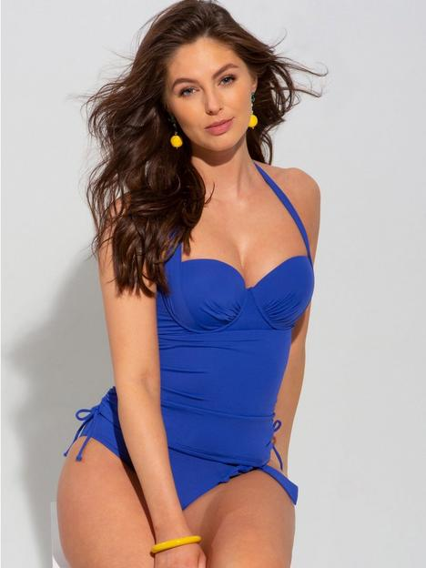 pour-moi-soleil-lightly-padded-underwired-multiway-tankini-cobalt