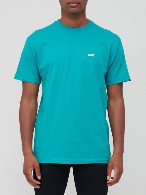 vans-left-chest-logo-t-shirt-greenwhite