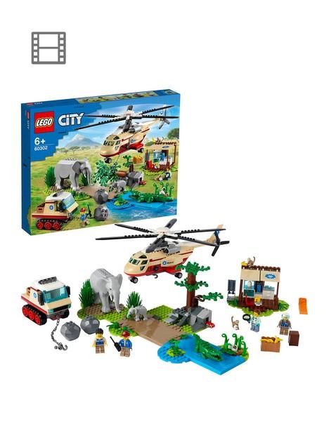 lego-city-city-wildlife-rescue-operation-vet-set-60302