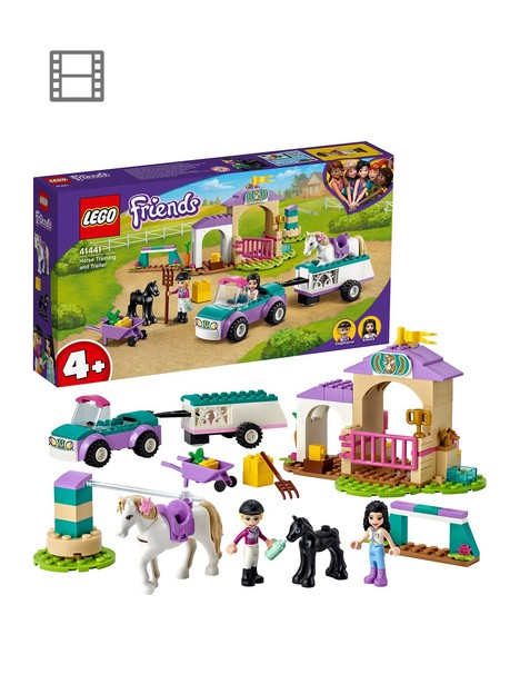 lego-friends-horse-training-and-trailer-toy-41441