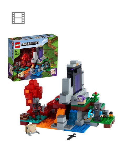 lego-minecraft-the-ruined-portal-building-set-21172