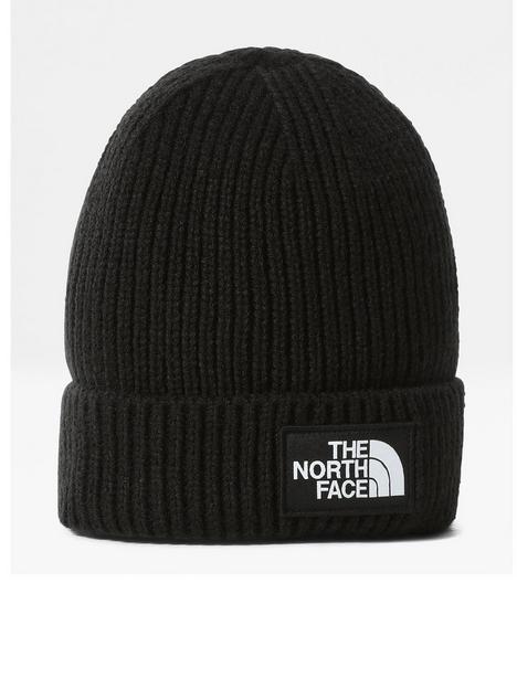 the-north-face-tnf-logo-box-cuffed-beanie-black