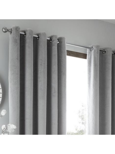 caprice-brigitte-faux-fur-eyelet-curtains