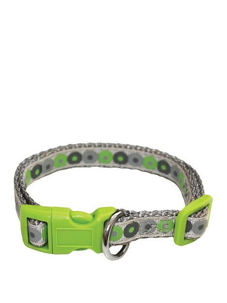 little-rascals-little-rascals-puppy-collar-lead-set-green