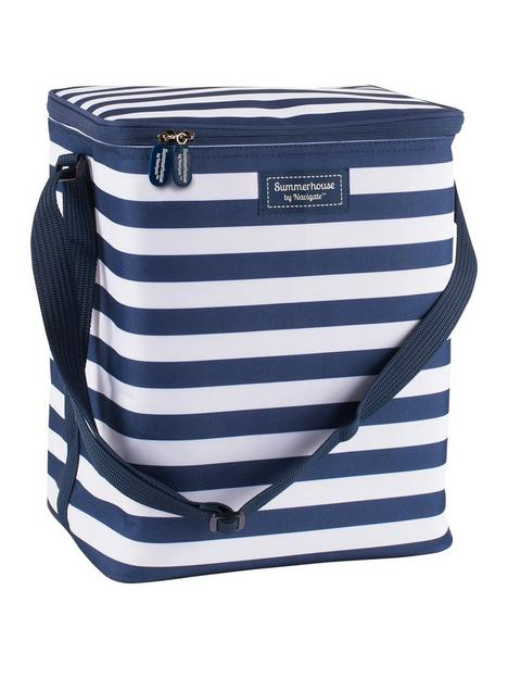 coast-navy-stripe-upright-family-cool-bag-2l