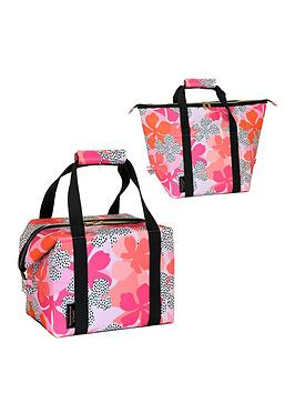 tribal-fusion-insulated-convertible-2-in-1-family-cool-bag-20l-floral-design