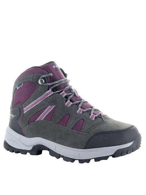 hi-tec-bandera-lite-walking-boots-charcoal