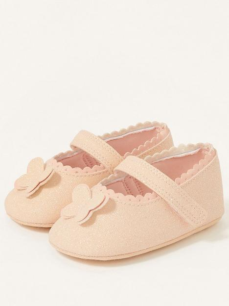 monsoon-baby-girls-shimmer-butterfly-bootie-pink
