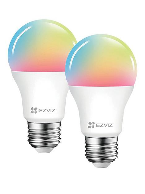 ezviz-lb1-colour-led-smart-bulbs-e27-a-2-bulbs
