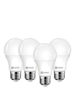 ezviz-lb1-white-led-smart-bulbs-e27-a-4-bulbs