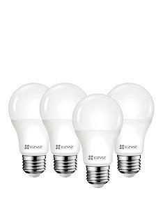 ezviz-quad-pack-white-smart-bulb-e27-4-bulbs