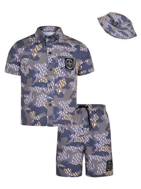 river-island-boys-3-piece-camo-set-blue