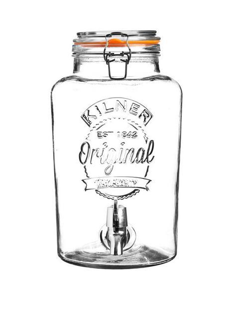 kilner-clip-top-round-drinks-dispenser-5-litre