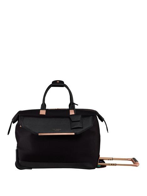 ted-baker-albany-small-trolley-duffle-black