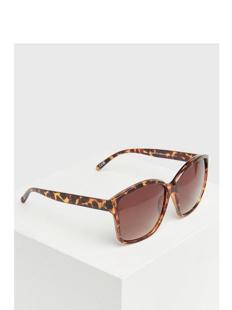 new-look-dark-brown-tortoiseshell-effect-rectangle-sunglasses